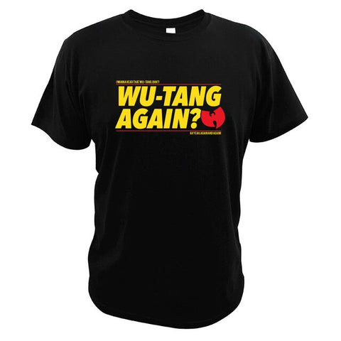 T-Shirt New-York Wu-Tang Again? noir