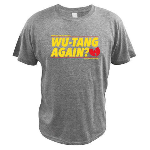 T-Shirt New-York Wu-Tang Again? gris