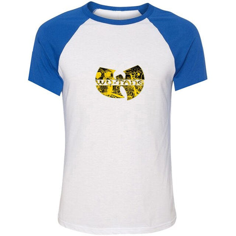 T-Shirt New-York Wu-Tang Electrique baseball bleu
