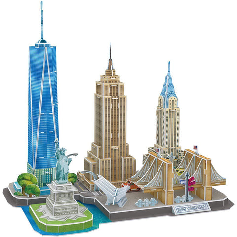 Puzzle 3D New-York  Monuments | Le Coin du New-Yorkais