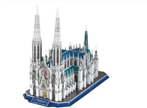 Puzzle 3D New-York Cathédrale Saint-Patrick | Le Coin du New-Yorkais