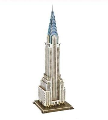 Puzzle 3D New-York Chrysler Building | Le Coin du New-Yorkais