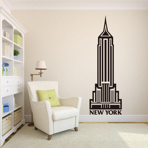 Sticker New-York Empire State Building | Le Coin du New-Yorkais