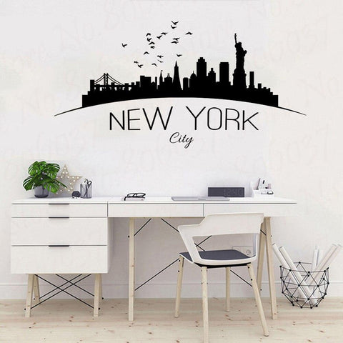 Stickers New-York Skyline City | Le Coin du New-Yorkais
