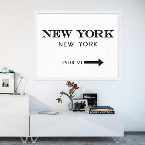 Tableau Direction New-York | Le Coin du New-Yorkais