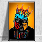 Tableau New-York Biggie Small is the illest | Le Coin du New-Yorkais