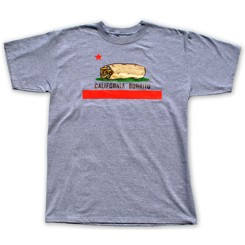 California Burrito T-shirt Heather Grey