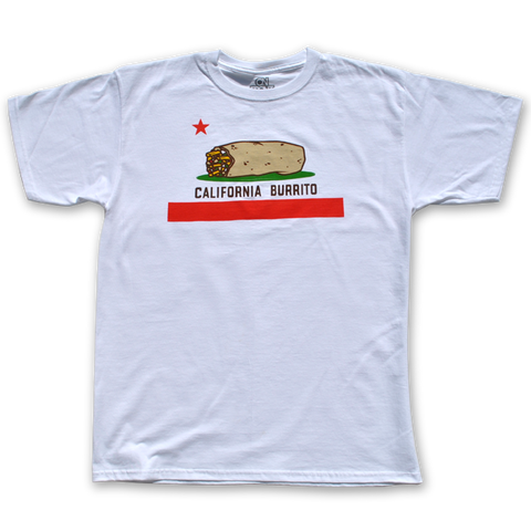 California Burrito T-shirt White