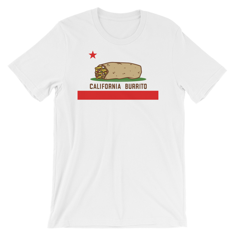 California Burrito White T-Shirt
