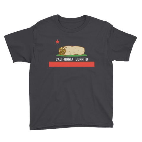 California Burrito Youth Short Sleeve T-Shirt