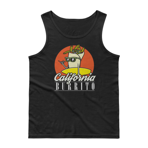 Mens Surfing Cali Tank Top