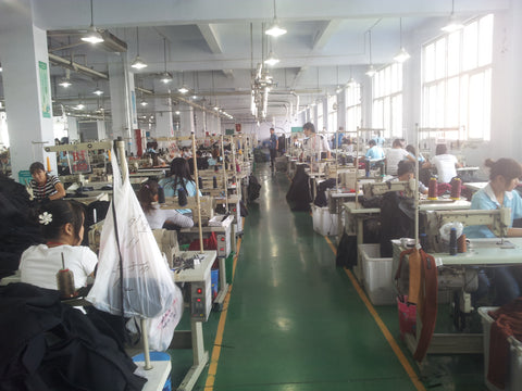 Poor work conditions in garment production