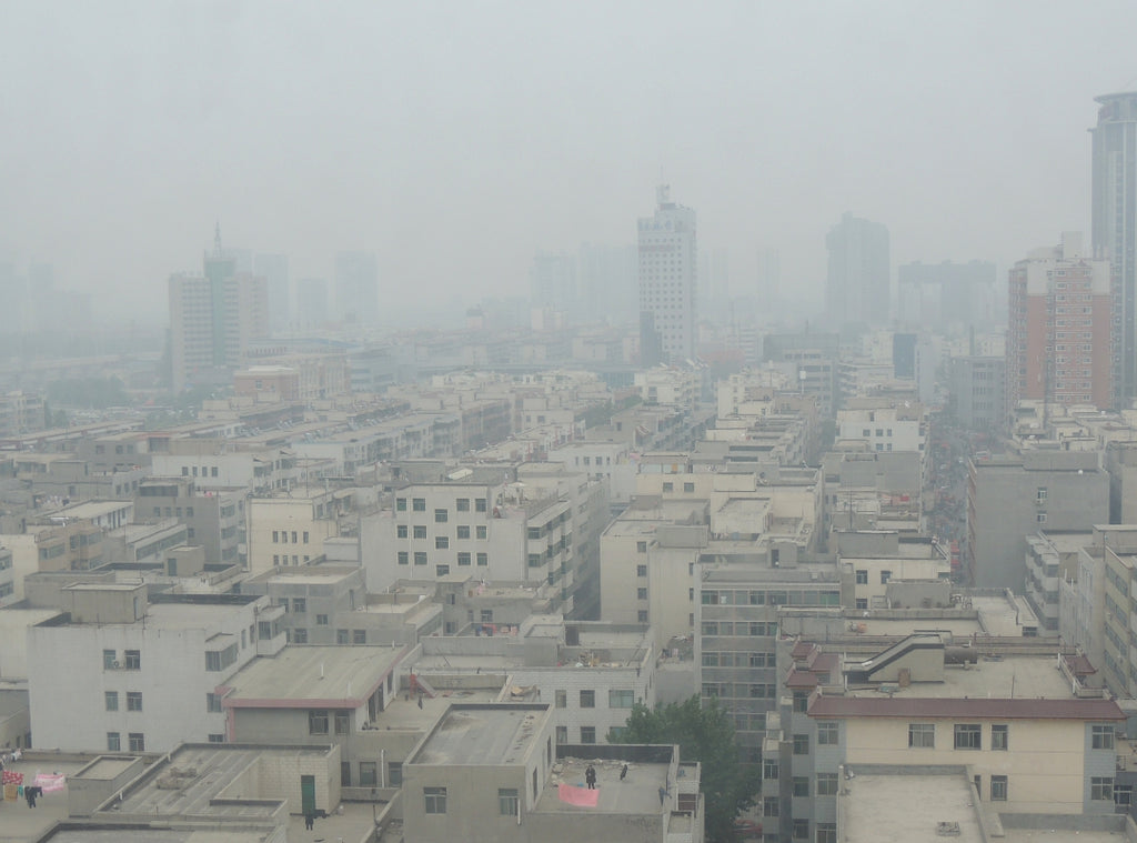 Heavy urban air pollution