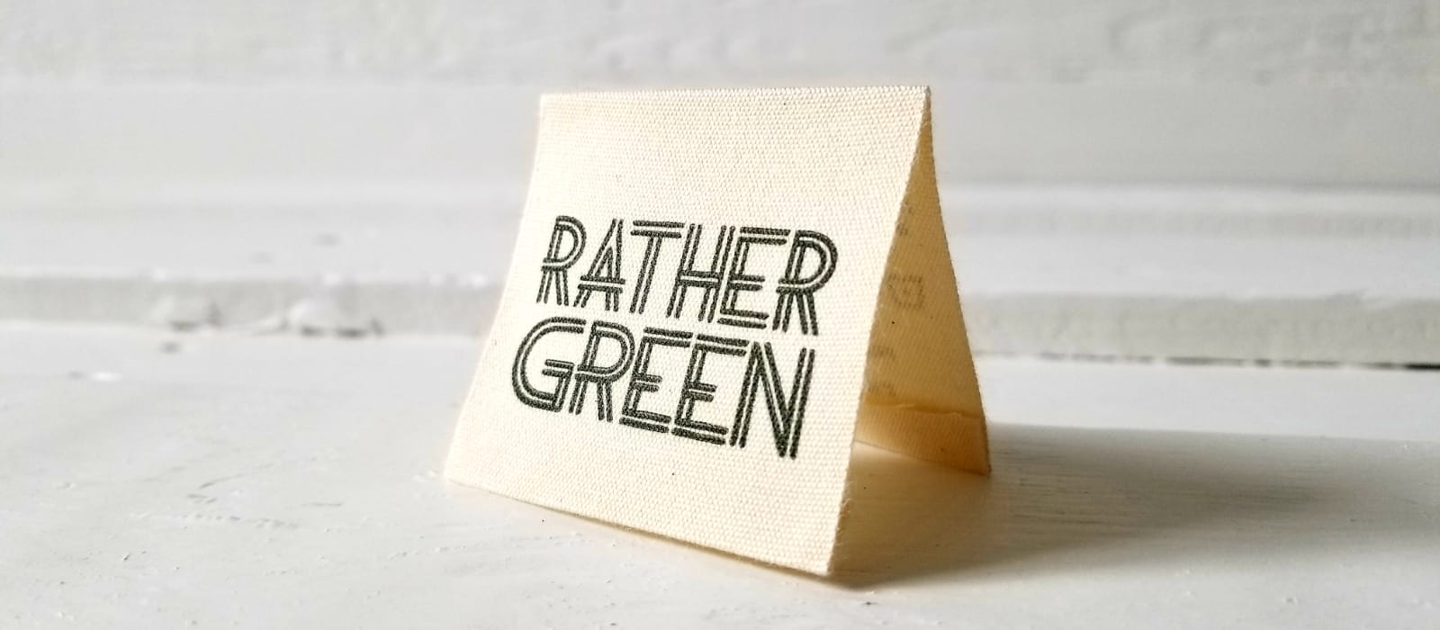 Rather Green label
