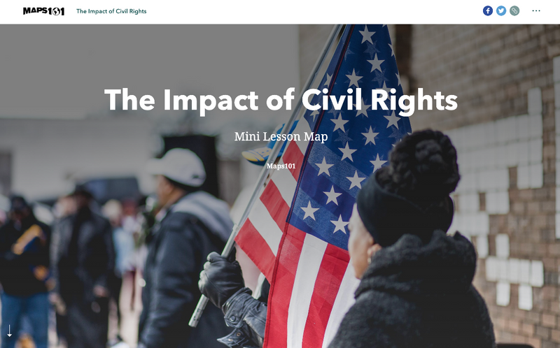 Civil Rights and Mini Lesson Maps