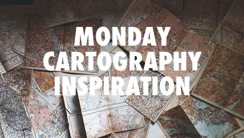 Monday April 12 Cartography Inspiration Round Up