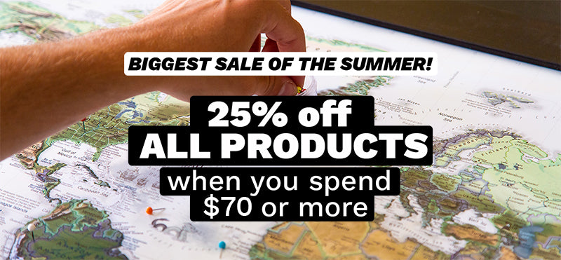 25% off all products when you spend $70 or more