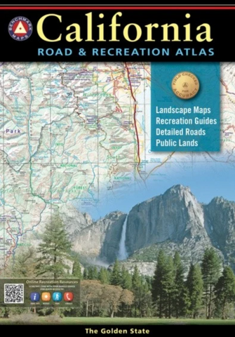 California Road And Recreation Atlas, 10th Edition