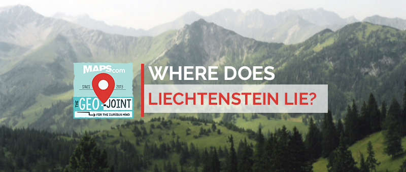 Where does Liechtenstein Lie?