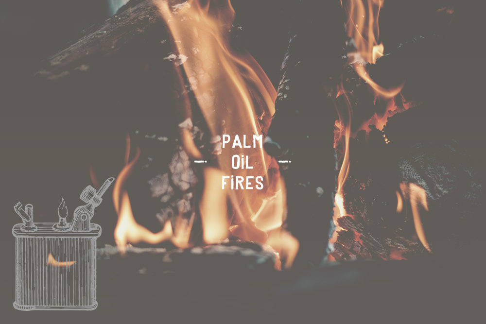 palm oil fires