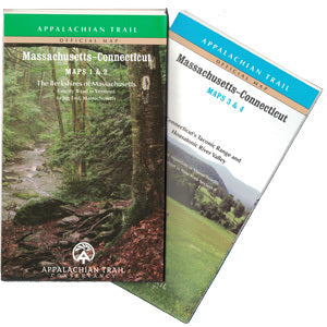 Cover of Appalachian Trail Guide to Massachusetts - Connecticut by Appalachian Trail Conservancy