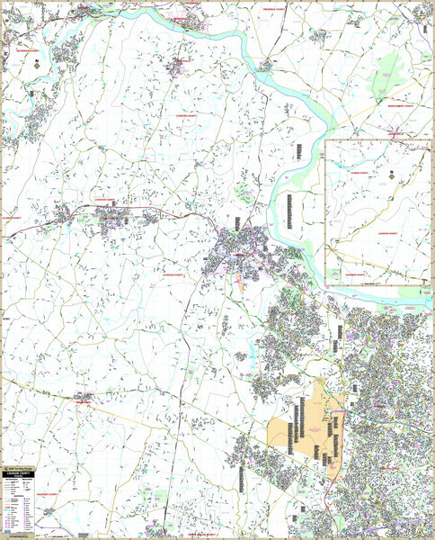 Loudoun County, VA Wall Map