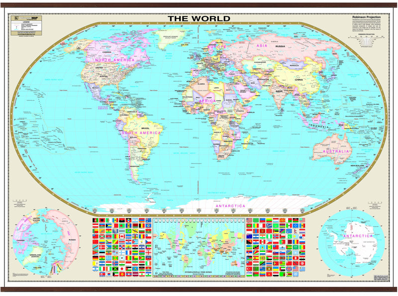 World Wall Map (small)