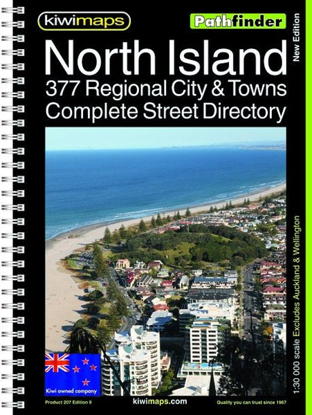 Cover of North Island, New Zealand, Provincal Towns, Bookmap
