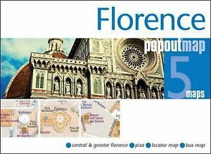 Cover of Florence, Italy, PopOut 5 Maps