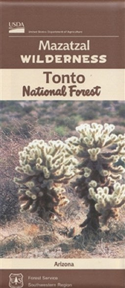 Cover of Tonto National Forest: Mazatal Wilderness Map by U.S. Forest Service