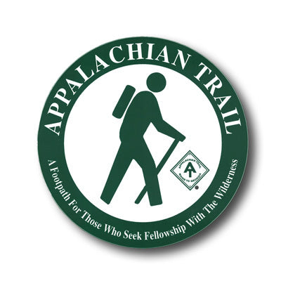 Cover of Appalachian Trail Hiker Decal by Appalachian Trail Conservancy