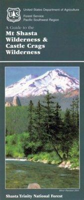 Cover of Shasta-Trinity National Forest Map by U.S. Forest Service