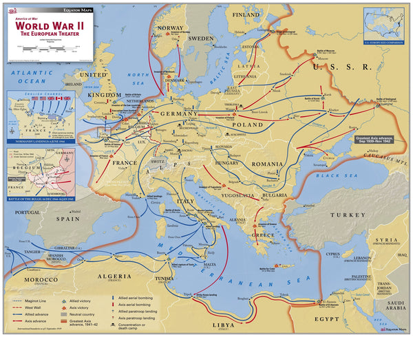 World War II, The European Theater
