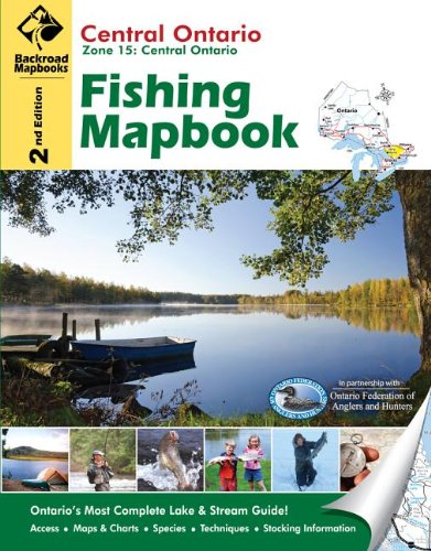 Cover of Central Ontario Fishing Mapbook