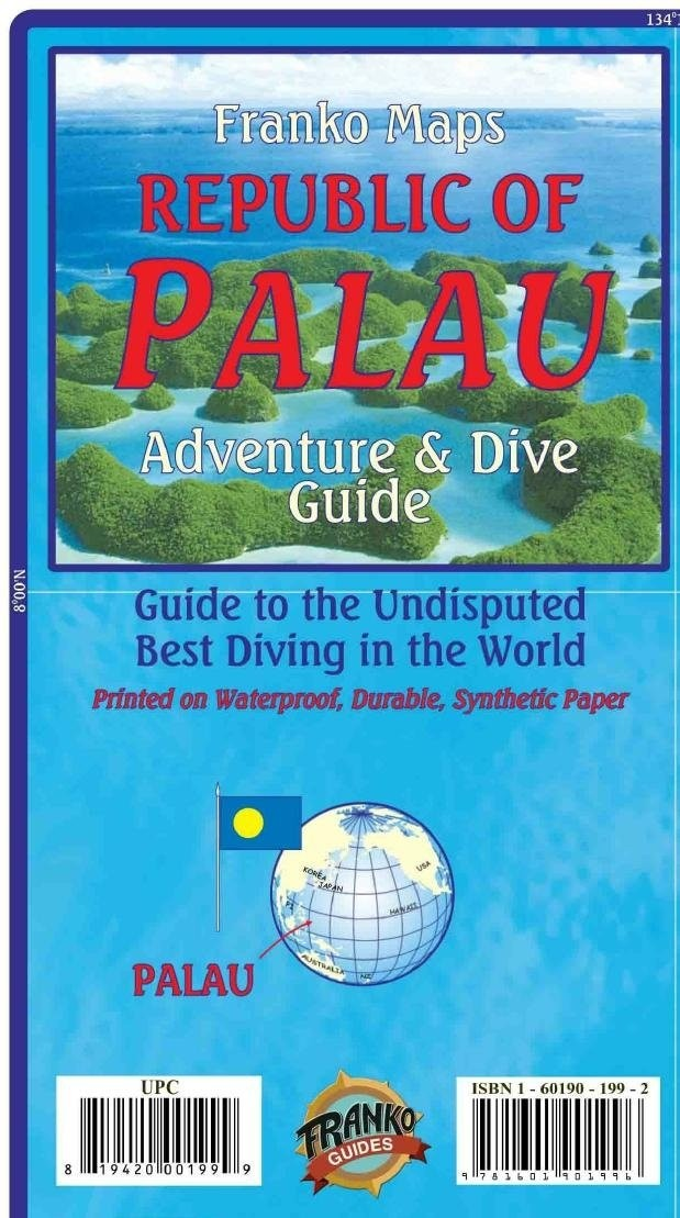 Palau Adventure Guide & Dive Map