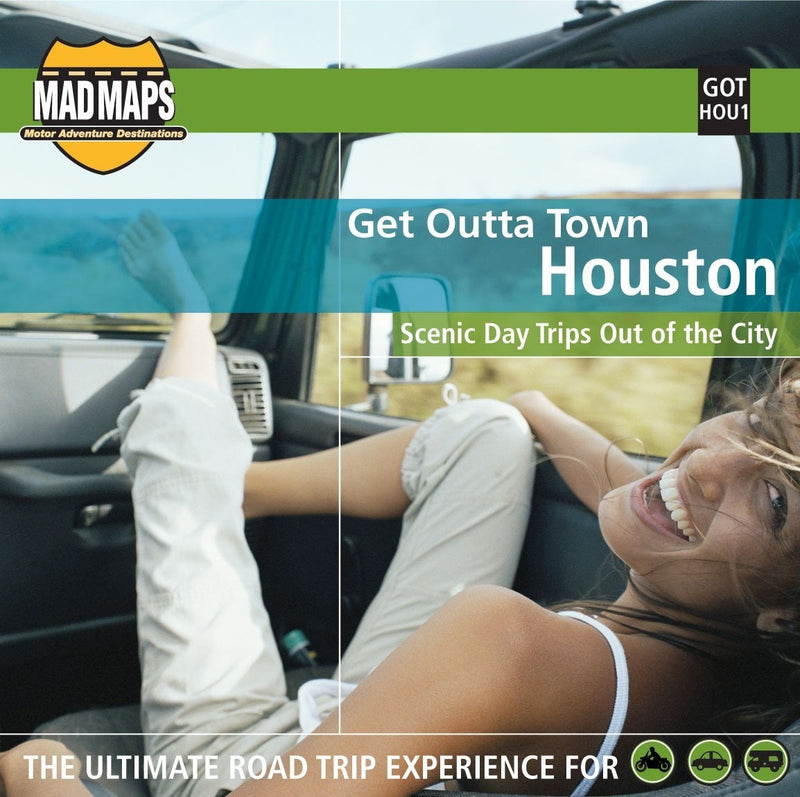 Houston, Texas, Get Outta Town by MAD Maps