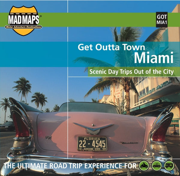 Miami, Florida, Get Outta Town by MAD Maps