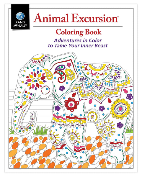 Animal Excursions Coloring Book by Rand McNally
