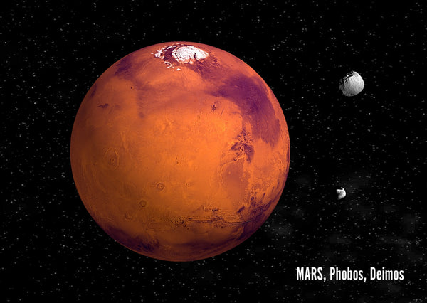 Cover of Mars-3D-Postcard-