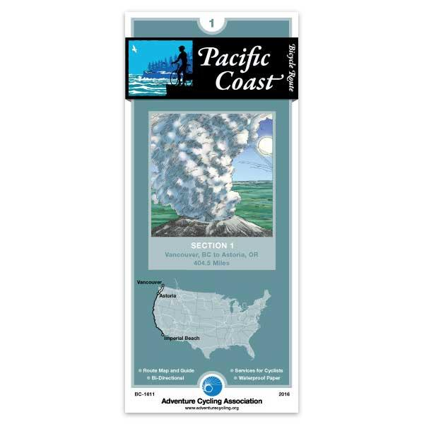 Cover of Pacific Coast Bicycle Route Section 1