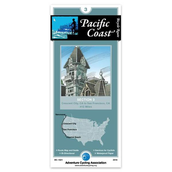 Cover of Pacific Coast Bicycle Route Section 3