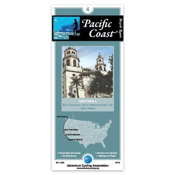 Cover of Pacific Coast Bicycle Route Section 4