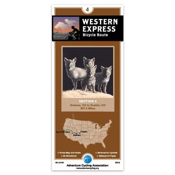 Cover of Western Express Bicycle Route Section 4