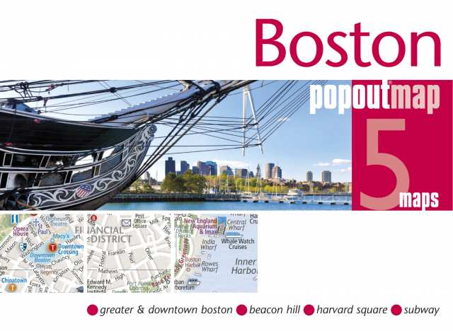 Cover of Boston, MA PopOut Map