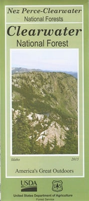 Cover of Clearwater National Forest Map by U.S. Forest Service