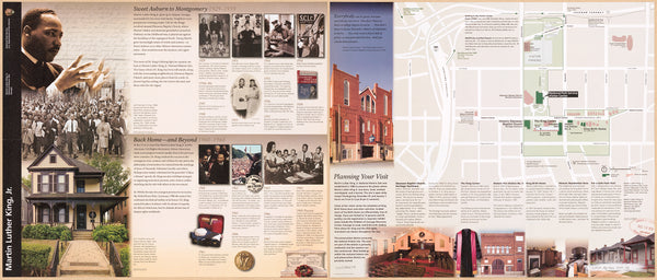 Martin Luther King, Jr. National Historic Site Map and Guide