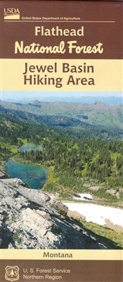 Cover of Flathead National Forest: Jewel Basin Hiking Area Map by U.S. Forest Service
