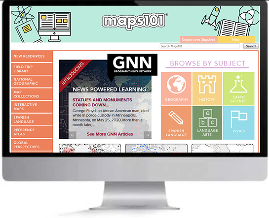 Maps101 Annual Subscription
