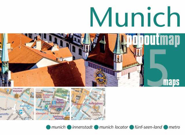 Cover of Munich, Germany, PopOut Map