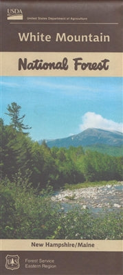 Cover of White Mountain National Forest Map by U.S. Forest Service